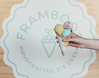 Framboos Handcrafted Ice Cream - Branding