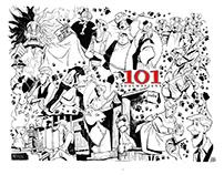 "XXXL COLORING PAGE - ""DISNEY 101 DALMATIANS"""