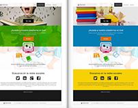 Design online bookstore