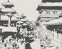 KATHMANDU SHARMAA- ALBUM ART