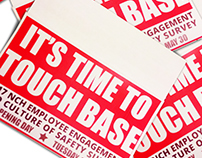 IT'S TIME TO TOUCH BASE: 2017 Employee Engagement