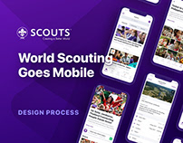 Scouts Mobile App — Design Case Study