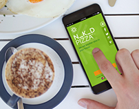 N_K_D PIZZA / iOS Mobile App