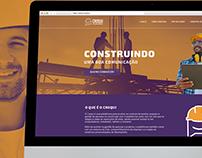 Croqui - Landing Page