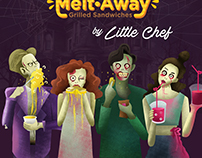 Melt-Away Halloween Poster