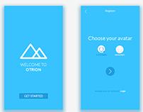 Mobile UI - Otrion