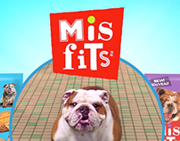 Misfits Dog GIF Partymaker