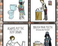 Star Wars Bathroom Rules