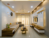 Apartment at Ghatkopar, Brickworks arch studio by Niti