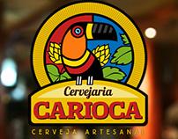 Identidade Visual Cervejaria Carioca