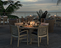 Coastal Terrace - 3D Renders with 3ds max and vray