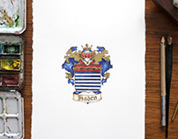 Miniature coat of arms