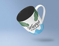Waves Resort Cup Design