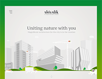 Shivalik Projects - Real Estate company site design