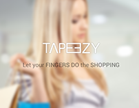 Tapeezy Website Design Concept