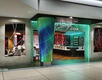 Restaurant space at Denver International Airport