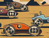 Ironwheel - Racing