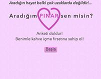 Pınar Benimle Kahve İç