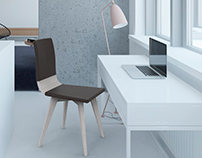 Wave | Wood Chair - House and Office