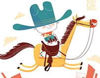 Cowboy Art Prints