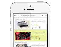 Buy/Sell Mobile UI/UX Design
