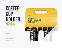 Cup Holder Mockup + bonus