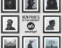 NEW PRINTS ON SOCIETY6 SHOP
