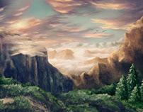 Empty Inside - Digital Painting, iPad Art