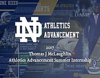 2017 Notre Dame Athletics Advancement Summer Internship