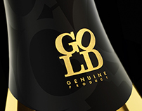 Love Is The Only Gold Sparkling Wine