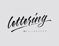 Calligraphy | Lettering 2