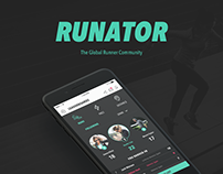 Runator - Mobile App Design