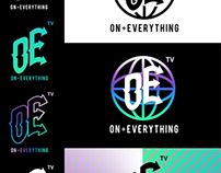 ON + EVERYTHING LOGO TREATMENT