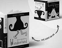 Livro duplo - Alice's adventures in Wonderland
