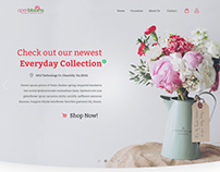 Open Blooms - A floral delivery website