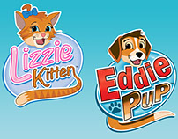 The Adventures of Lizzie Kitten & Eddie Pup
