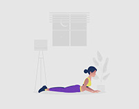 Workout Illustration 04