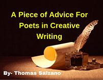 Thomas Salzano -A few Topics On Poetry Every Beginner