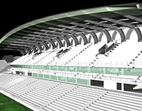 Aris F.C. Stadium, Charilaou, Thessaloniki, Greece