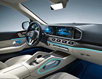 Mercedes-Benz GLE SUV AMG Line // CGI