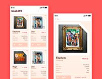 Gallery stock