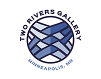 Two Rivers Gallery Identity