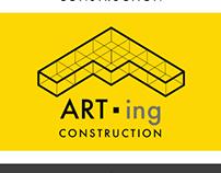 ARTing - Construction Company Logo Design