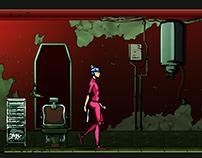 Nightcall - Video Game Art