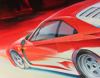 Artwork Ferrari F 40