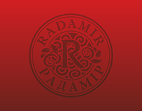 "Homel distillery ""RADAMIR"" catalogue design"