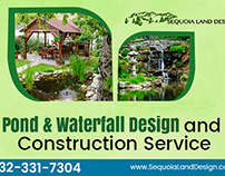 Tips for Pond Waterfall Design and Construction