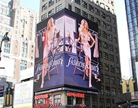NYC Digital Billboard (7th Avenue & 33rd Street)
