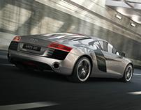 Full CGI Audi R8
