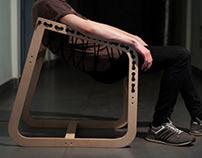 Air lounge chair